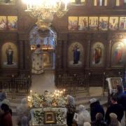 Литургия, Храм святой равноапостольной Марии Магдалины